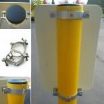 4'' Bollard Sign Adapter Set